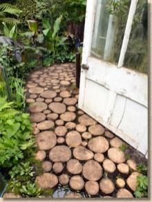 Creative Diy Garden Walkways Ideas For Stunning Home Yard05