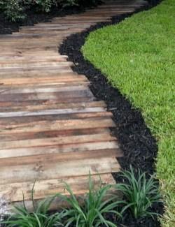 Creative Diy Garden Walkways Ideas For Stunning Home Yard15