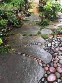 Creative Diy Garden Walkways Ideas For Stunning Home Yard20
