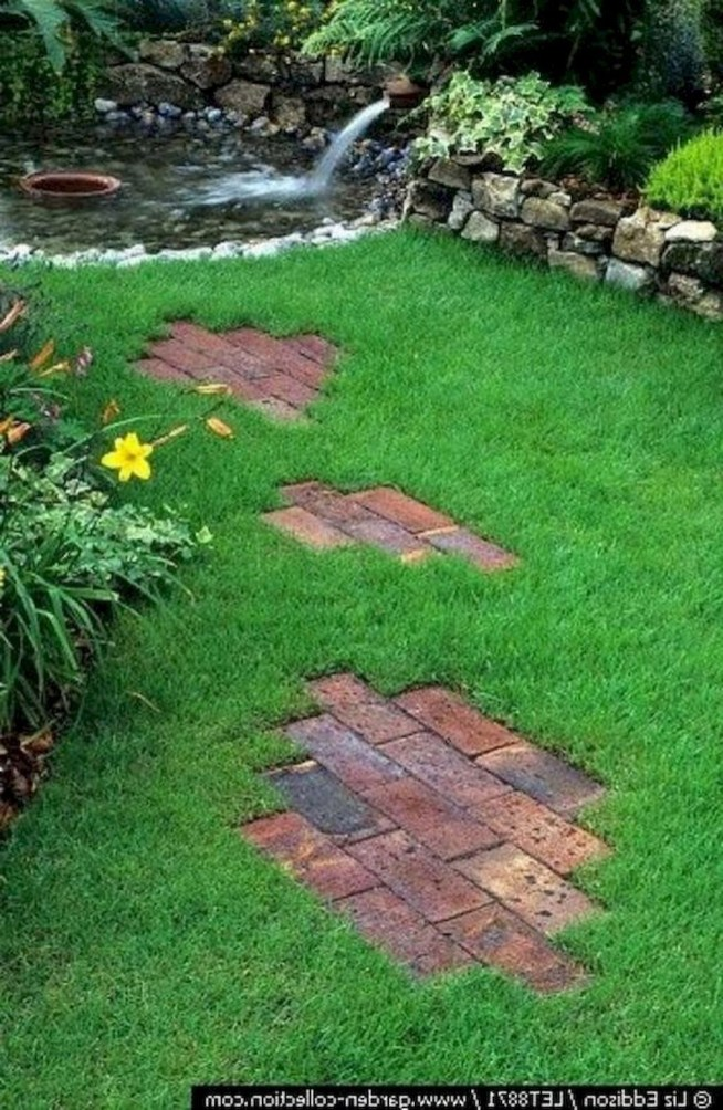 Creative Diy Garden Walkways Ideas For Stunning Home Yard24