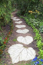 Creative Diy Garden Walkways Ideas For Stunning Home Yard30