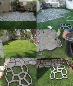 Creative Diy Garden Walkways Ideas For Stunning Home Yard43