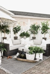 Creative Ideas To Decorate Your Outdoor Room12