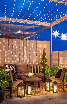 Creative Ideas To Decorate Your Outdoor Room15