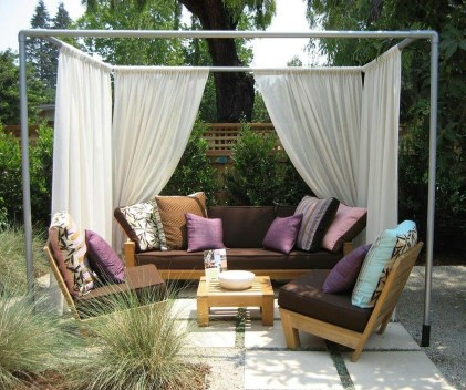 Creative Ideas To Decorate Your Outdoor Room33