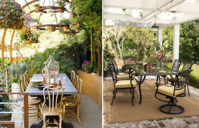 Creative Ideas To Decorate Your Outdoor Room41