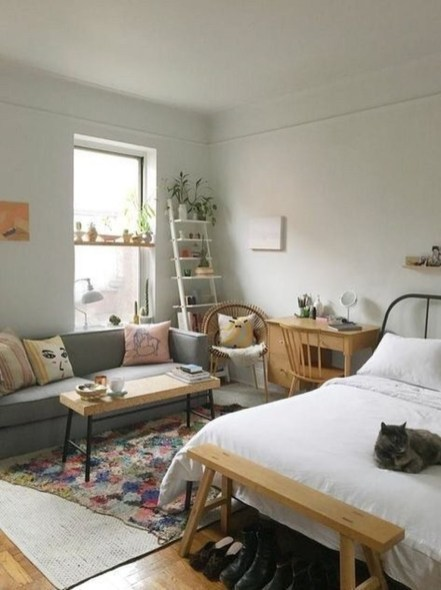 Decorating Ideas For Diy Small Apartments With Low Budget In20
