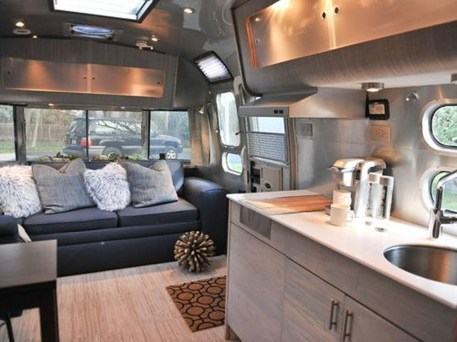 Enchanting Airstream Rv Design And Decoration Ideas For Your Travel Comfort26