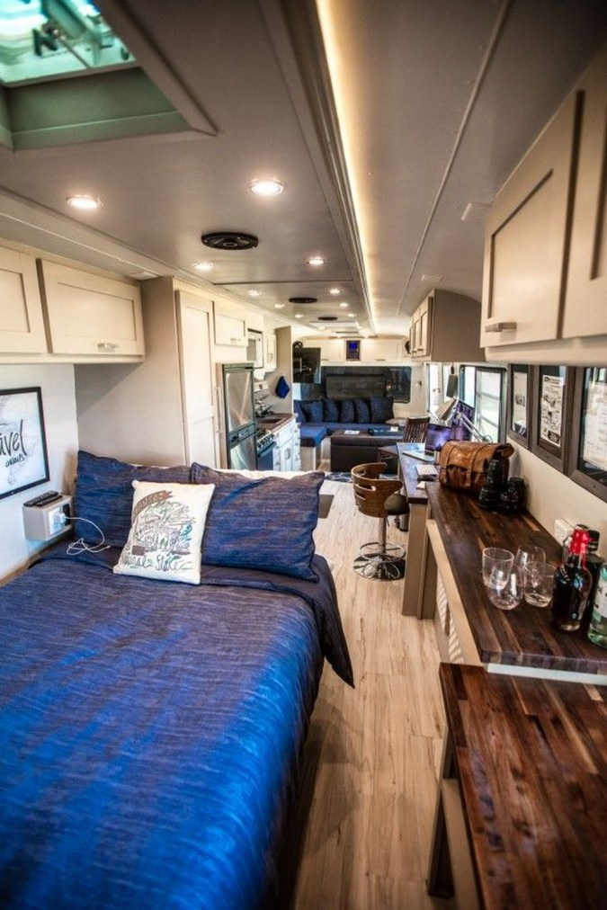 Enchanting Airstream Rv Design And Decoration Ideas For Your Travel Comfort27