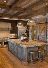 Extraordinary County Rustic Kitchen Ideas For Inspiration07
