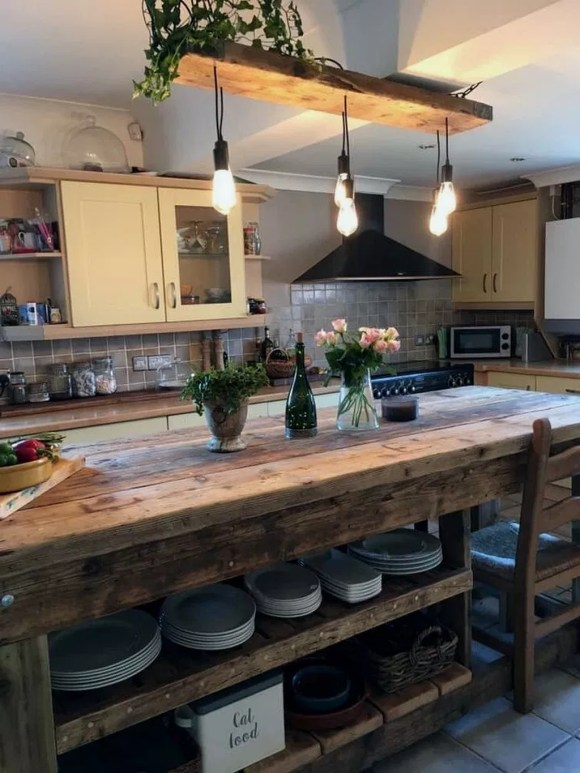 Extraordinary County Rustic Kitchen Ideas For Inspiration44