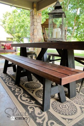 Fabulous Diy Outdoor Bench Ideas For Your Home Garden07