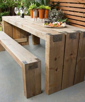 Fabulous Diy Outdoor Bench Ideas For Your Home Garden12