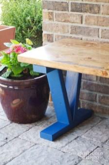 Fabulous Diy Outdoor Bench Ideas For Your Home Garden17