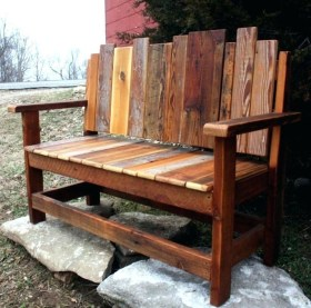 Fabulous Diy Outdoor Bench Ideas For Your Home Garden21