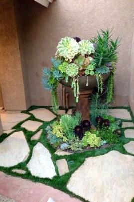 Gorgeous Succulent Garden Ideas For Your Backyard18