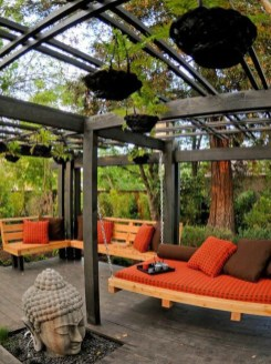 Impressive Gazebo Design Inspiration For Minimalist Garden07