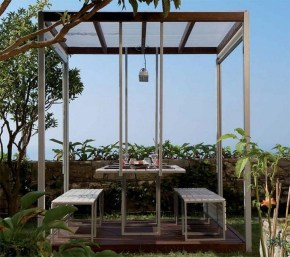 Impressive Gazebo Design Inspiration For Minimalist Garden11
