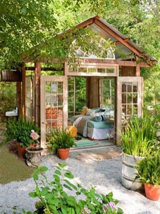 Impressive Gazebo Design Inspiration For Minimalist Garden25