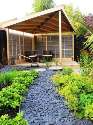 Impressive Gazebo Design Inspiration For Minimalist Garden26