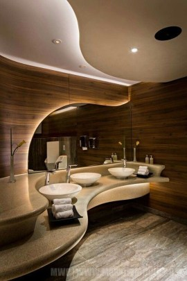 Luxury Bathroom Decoration Ideas For Enjoying Your Bath34