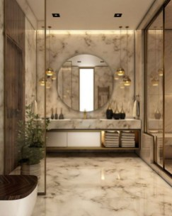 Luxury Bathroom Decoration Ideas For Enjoying Your Bath43