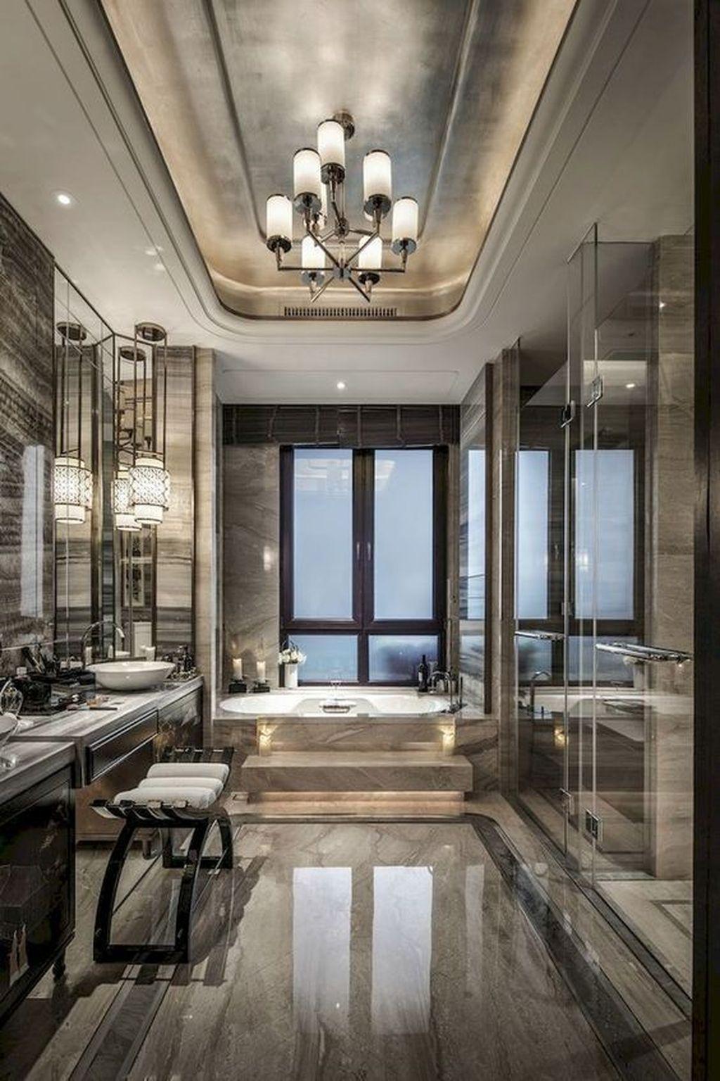 Luxury Bathroom Decoration Ideas For Enjoying Your Bath44