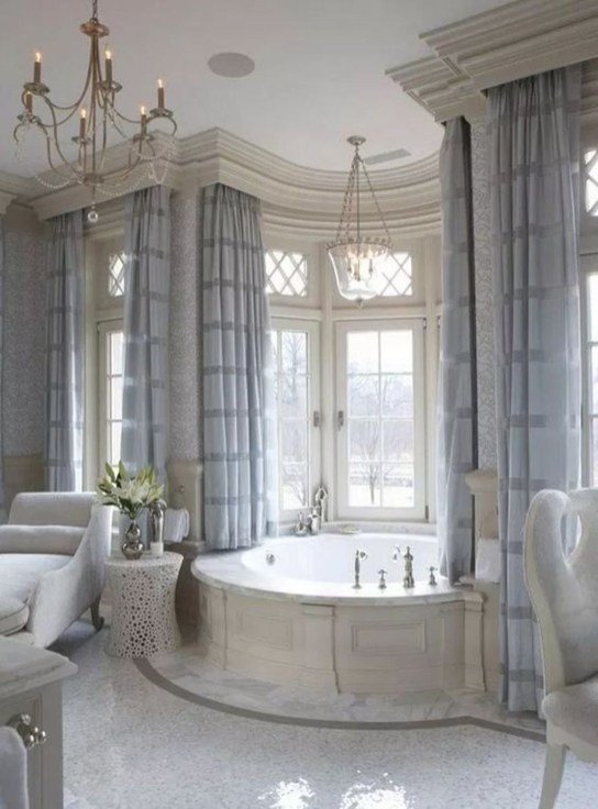 Luxury Bathroom Decoration Ideas For Enjoying Your Bath45