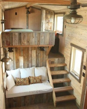 Smart Ideas For Decorating A Tiny House For Your Comfortable Family09