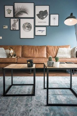 The Best Decorations Industrial Style Living Room That Will Amaze Your Guests25