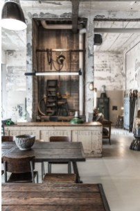 The Best Decorations Industrial Style Living Room That Will Amaze Your Guests30