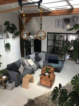 The Best Decorations Industrial Style Living Room That Will Amaze Your Guests34