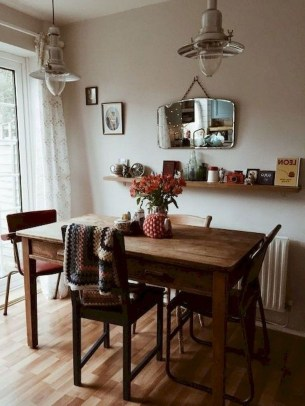 The Most Effective Tiny Dining Room Design Ideas25
