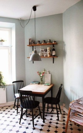 The Most Effective Tiny Dining Room Design Ideas34