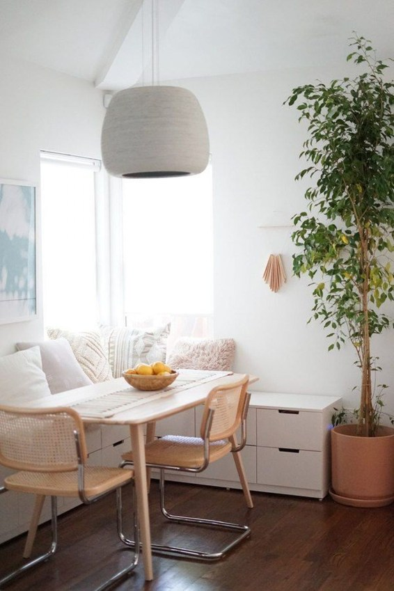 The Most Effective Tiny Dining Room Design Ideas38