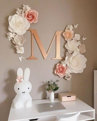 Amazing Diy Flower Wall Decoration For You Try06