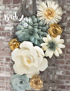 Amazing Diy Flower Wall Decoration For You Try12