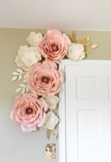 Amazing Diy Flower Wall Decoration For You Try13