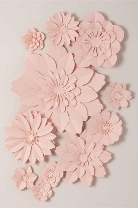 Amazing Diy Flower Wall Decoration For You Try15