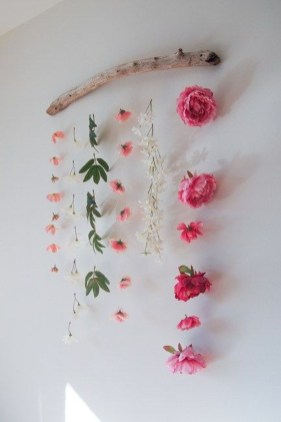 Amazing Diy Flower Wall Decoration For You Try17