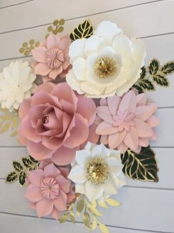 Amazing Diy Flower Wall Decoration For You Try29