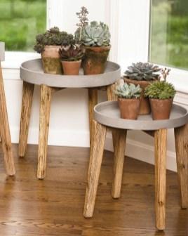 Awesome Diy Plant Shelf Design Ideas To Organize Your Garden08