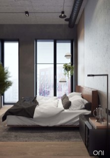 Awesome Industrial Style Bedroom Design Ideas05