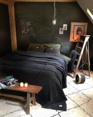 Awesome Industrial Style Bedroom Design Ideas25