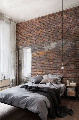 Awesome Industrial Style Bedroom Design Ideas26