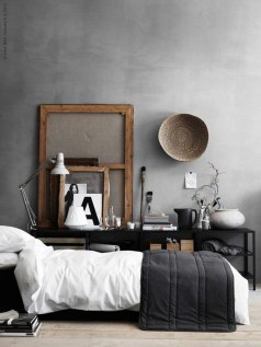 Awesome Industrial Style Bedroom Design Ideas30