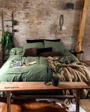 Awesome Industrial Style Bedroom Design Ideas33