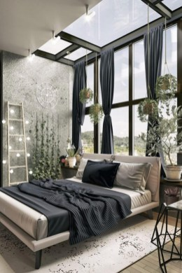 Awesome Industrial Style Bedroom Design Ideas44