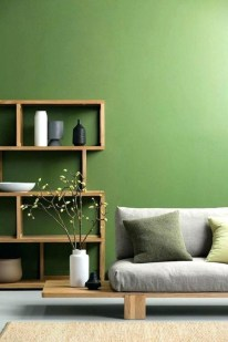 Awesome Living Room Green And Purple Interior Color Ideas04