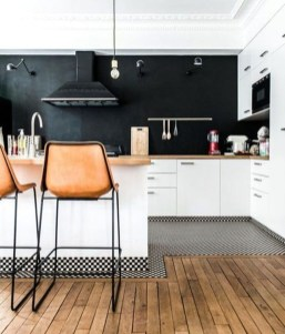 Best Monochrome Kitchen Theme Ideas For Decoration12